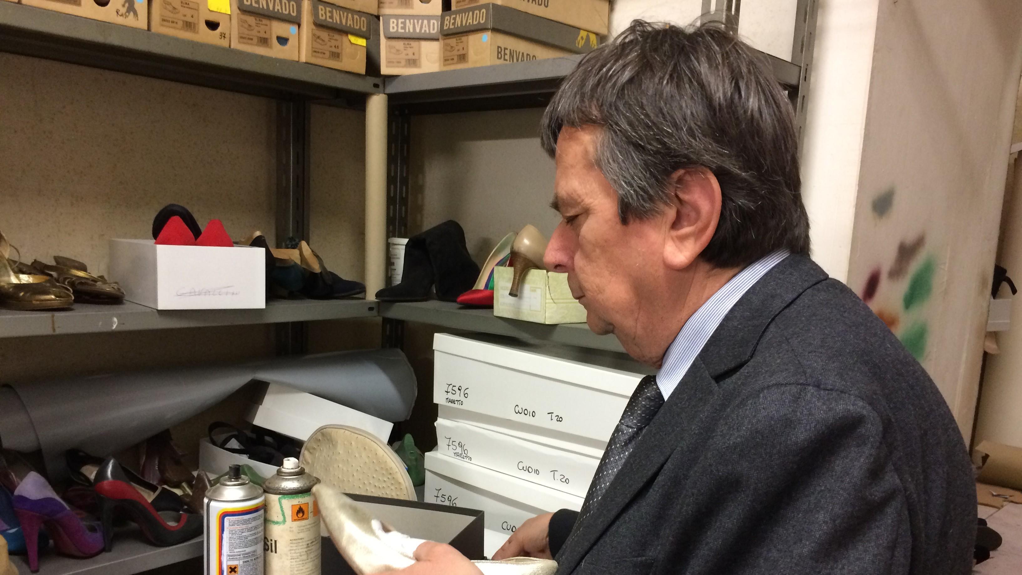 Roberto Spinelli cura personalmente ogni dettaglio delle sue scarpe